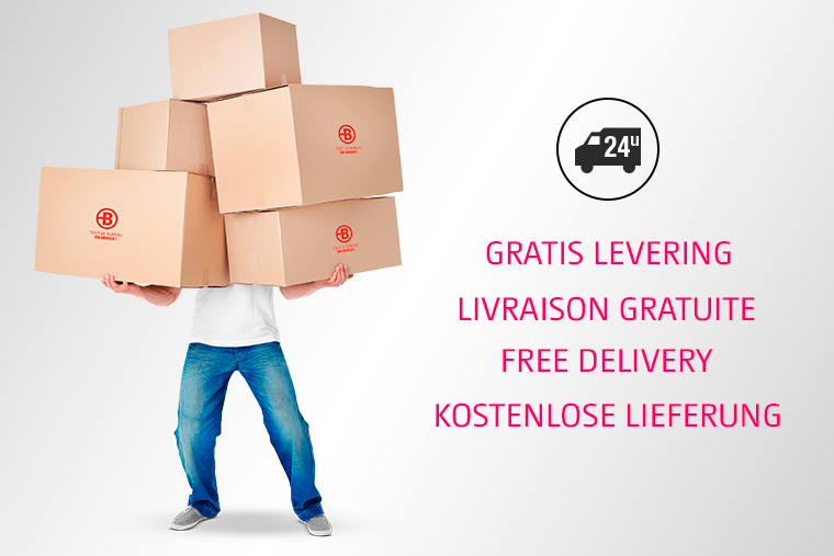 FREE delivery from €49 ex VAT (instead of €74 ex VAT)