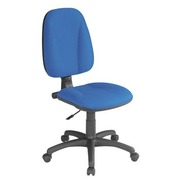 Chair Twisty fireproof cloth - blue