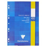 Notebook 400 loose sheets 5x5