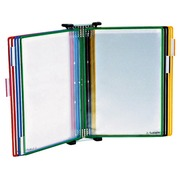 Tarifold, wall mounted document holder, 10 pockets