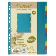 Set of dividers, 12 divisions, recycled polypropylene Forever