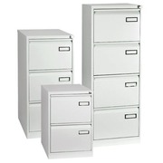 Cabinet monoblock 4 drawers grey H 132 cm
