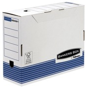 Filing boxes with a back of 10 cm Fellowes white and blue