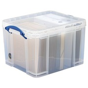 Plastic opbergdoos 35 L Really Useful Box ongekleurd