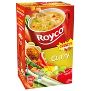 Box of 20 bags Royco Minute Soup curry