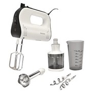 Philips Avance Collection HR1578 - handmixer - wit/zwart