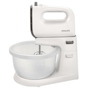 Philips Viva Collection HR3745 - mixer - white/cashmere gray