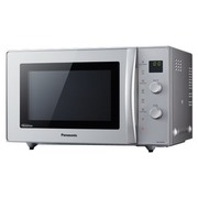 Panasonic NN-CD575MEPG - microwave oven with convection and grill - freestanding - silver