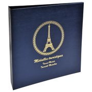Ringbinder for 100 tourist medals - Navy blue