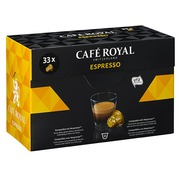 Coffee capsule Café Royal Espresso - Box of 33
