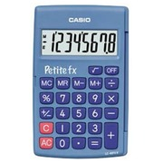 Calculator Casio small FX blue