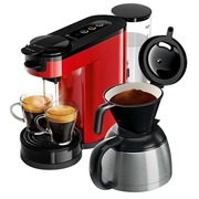 Philips Senseo Switch HD6592 - koffieapparaat - 1 bar - monza rood