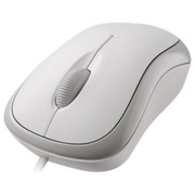 Microsoft Basic Optical Mouse for Business - mouse - PS/2, USB - white