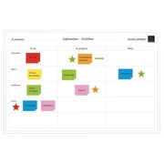 Exaplanner Magnetic Wall To Do List 60x90cm