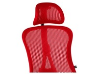 Head support for office chair Andrio red