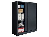 High cabinet Jumbo with sliding doors H 200 x W 180 cm large volume