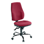 Chair Bruneau high back H 58 cm permanent contact