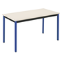 Multi-use eco table 130 x 65 cm beige