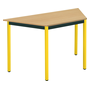 Classic trapezoidal multiform table beech